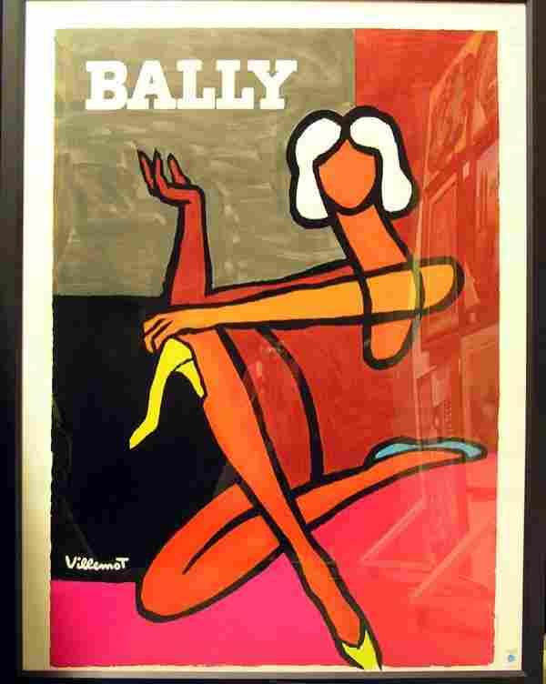 287: Bernard Villemot French vintage poster