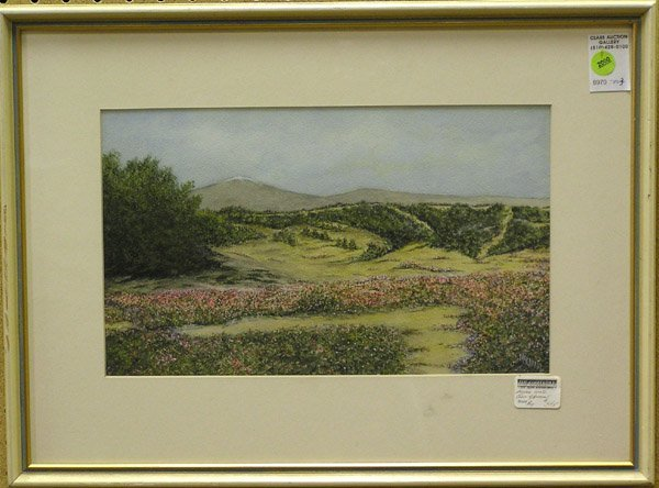 2000: Watercolor Landscape American