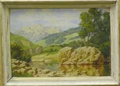 2003: Painting Landscape Russian