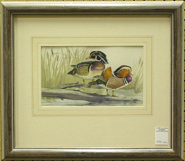 2006: Watercolors Gamebirds Waterfowl