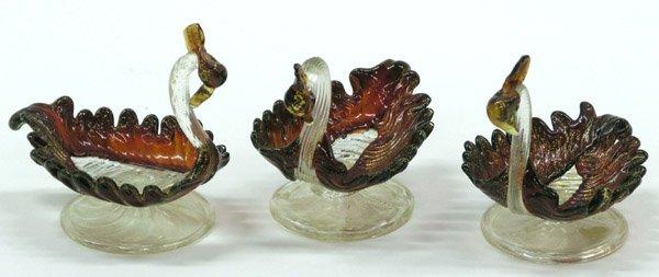 2009: Murano Art Glass Swan Dishes