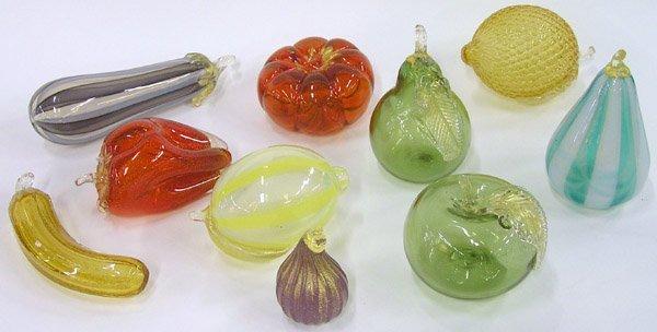2011: Murano Art Glass Fruit