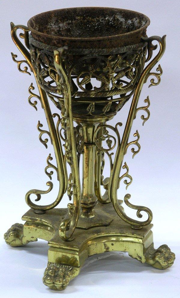 2013: French Gilt Brass Pedestal