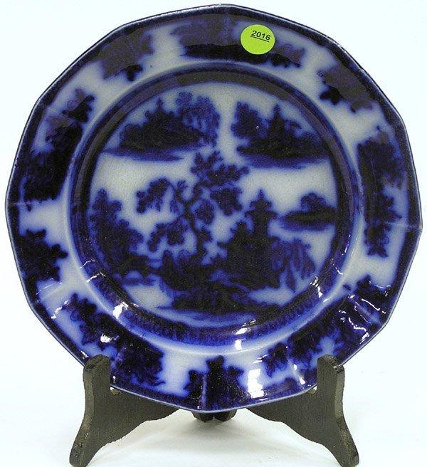 2016: Wedgewood Flow Blue, Cresent Plates