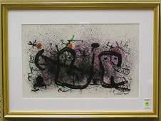 2325 Lithograph Joan Miro Spanish