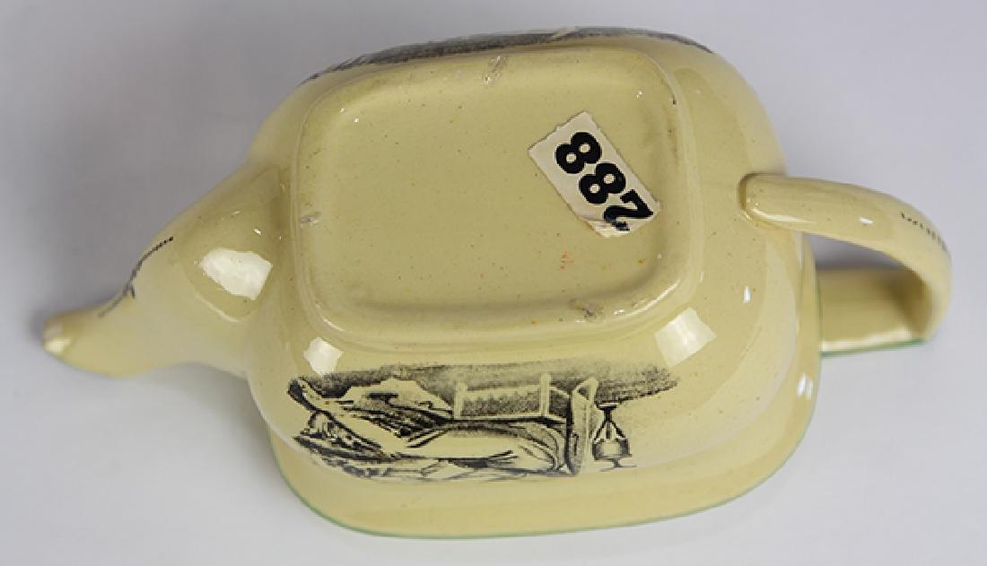 (Lot of 12) English Liverpool miniature creamware tea - 4