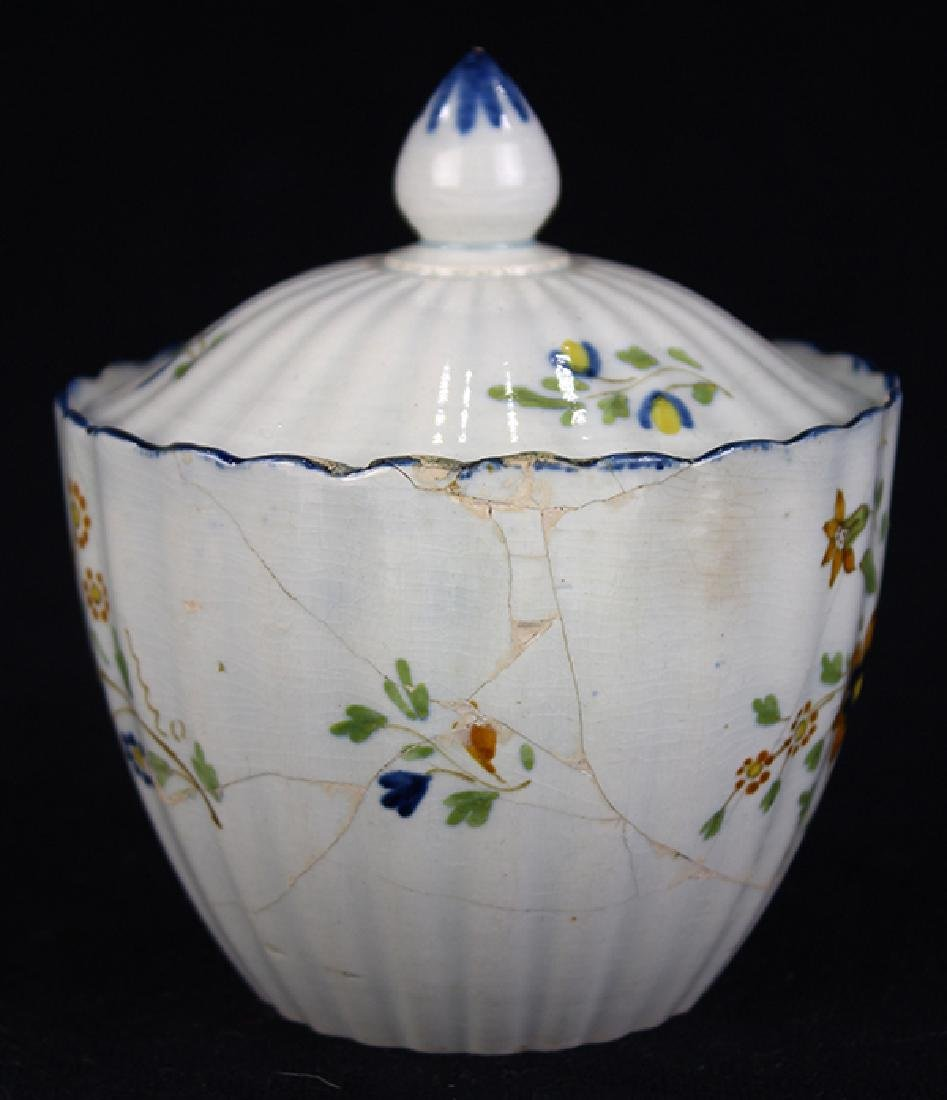 (Lot of 12) English Staffordshire pearlware partial - 2