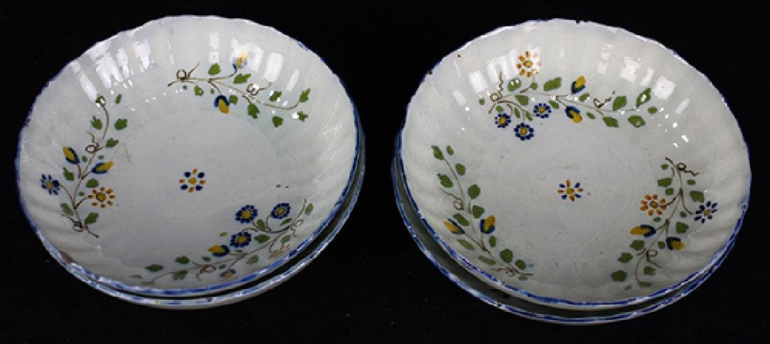 (Lot of 12) English Staffordshire pearlware partial - 6