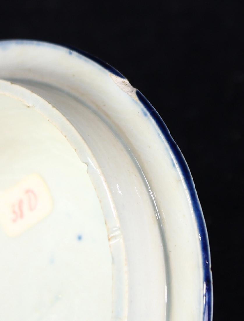 (Lot of 12) English Staffordshire pearlware partial - 7