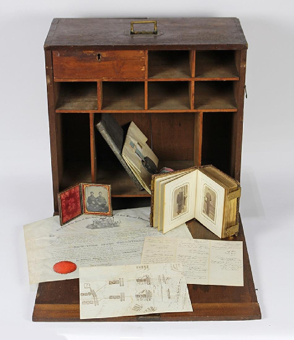 Large civil War archive penned by and relating to