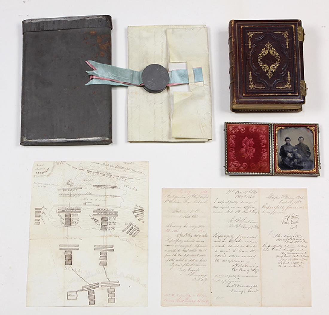 Large civil War archive penned by and relating to - 6