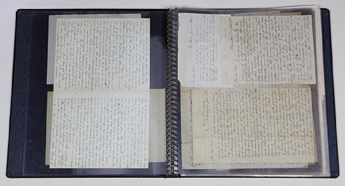 Large civil War archive penned by and relating to - 8