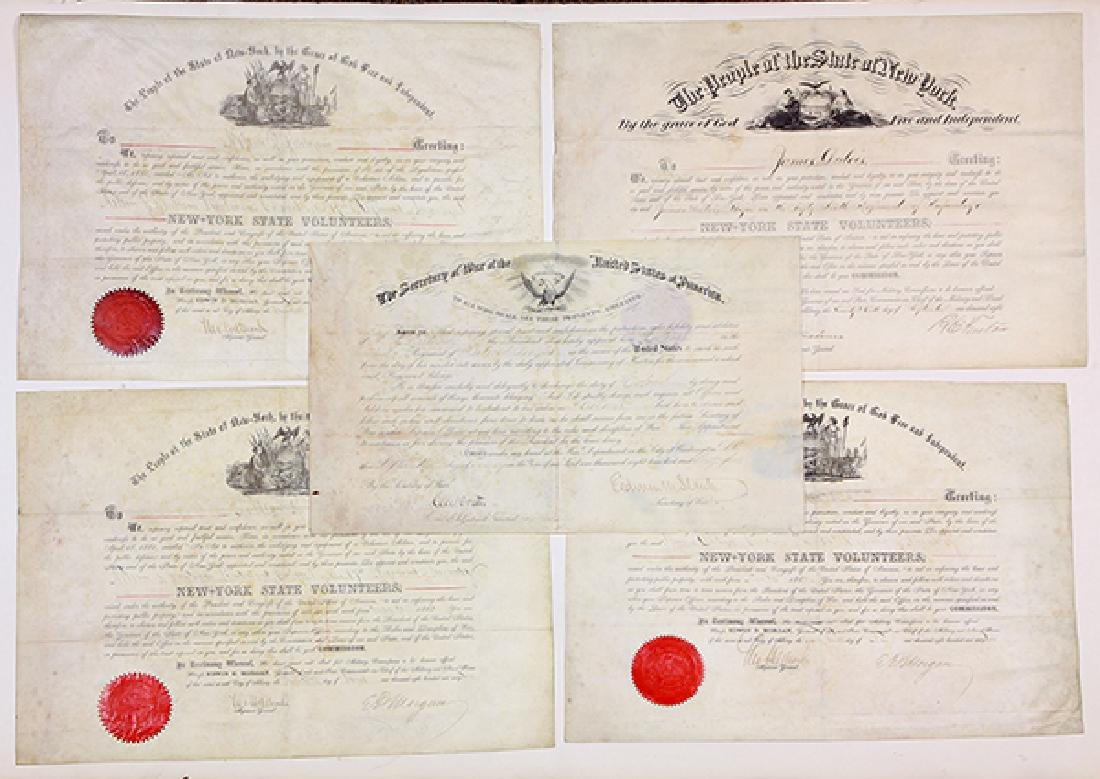 Large civil War archive penned by and relating to - 9
