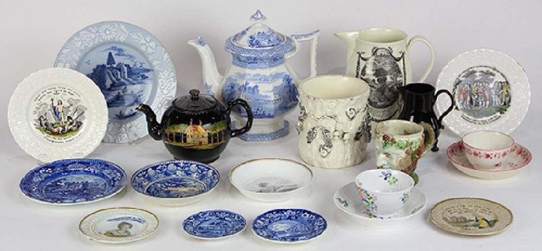 (lot of 20) Collection of mostly English assorted