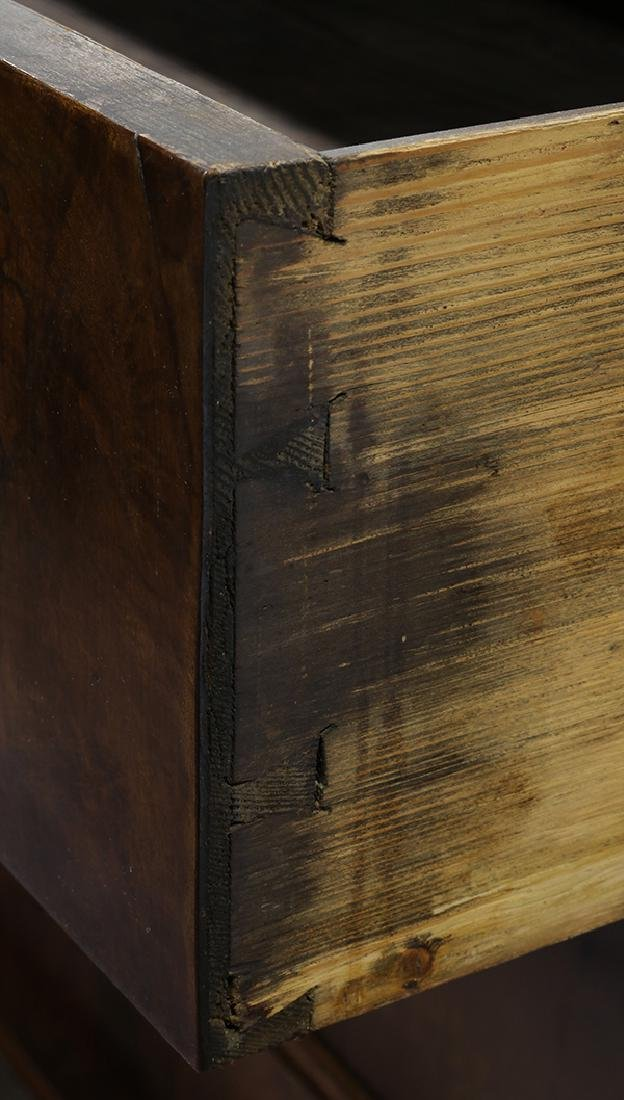 Italian burlwood chest late 18th / 19th century, having - 3