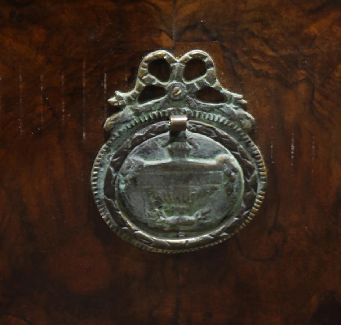 Italian burlwood chest late 18th / 19th century, having - 6