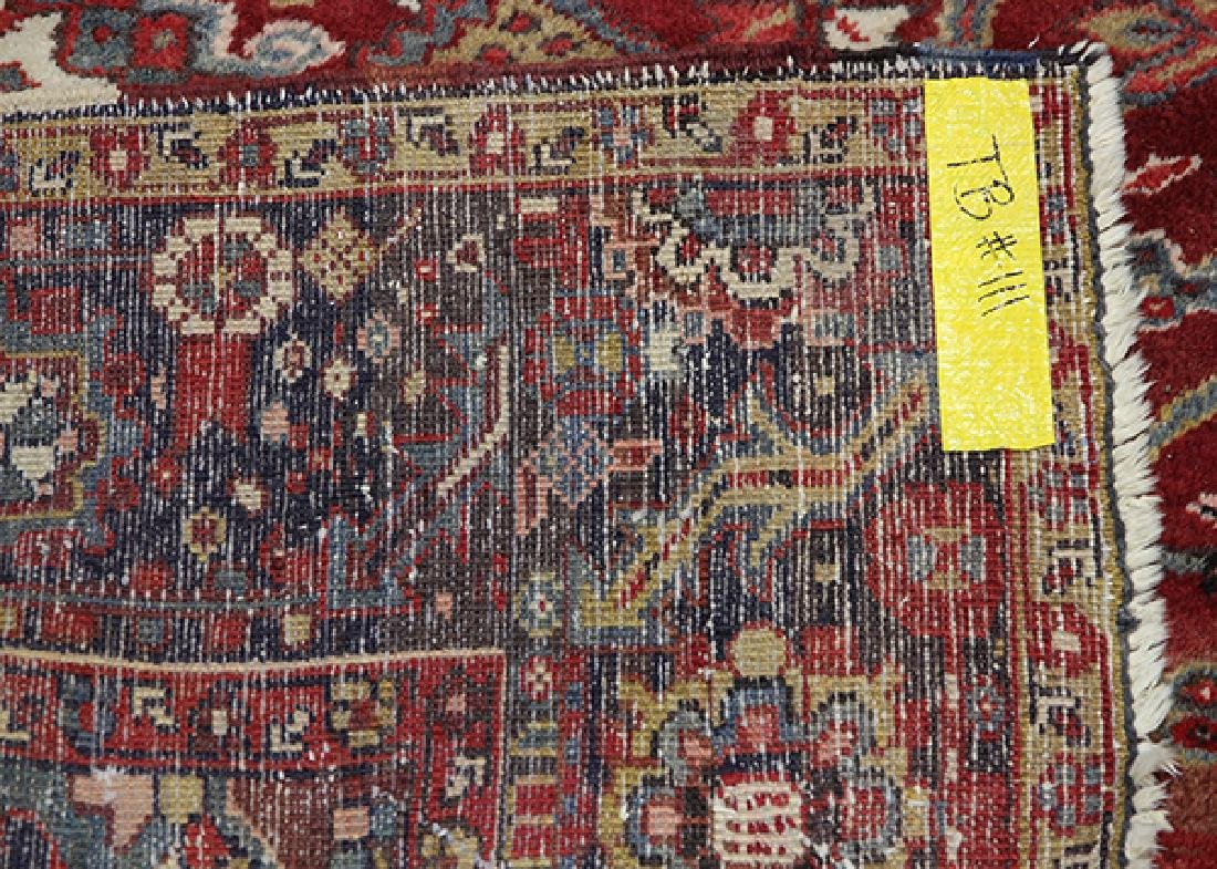 "Persian Heriz carpet, 9'10""l x 12'8'' - 4"