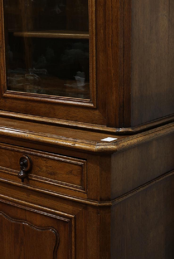French oak sideboard circa 1860, the arched cornice - 2