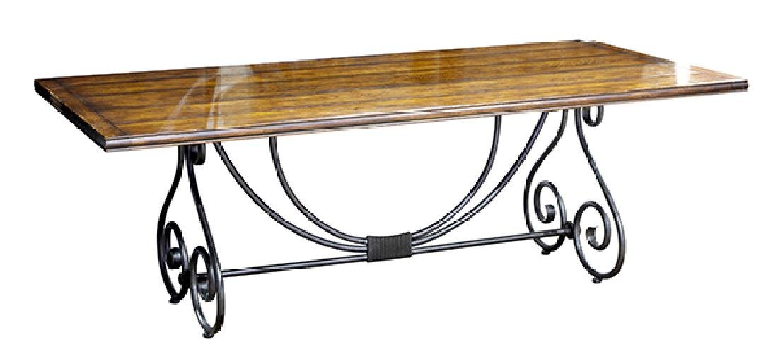 Spanish Baroque style refectory table - 3
