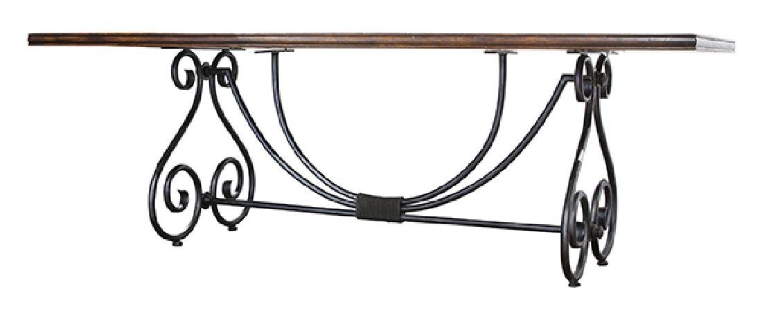Spanish Baroque style refectory table - 4