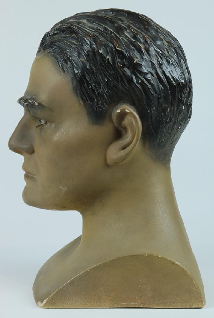 Folk art hat mannequin