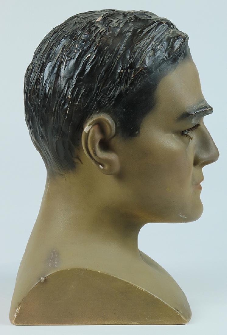 Folk art hat mannequin - 2