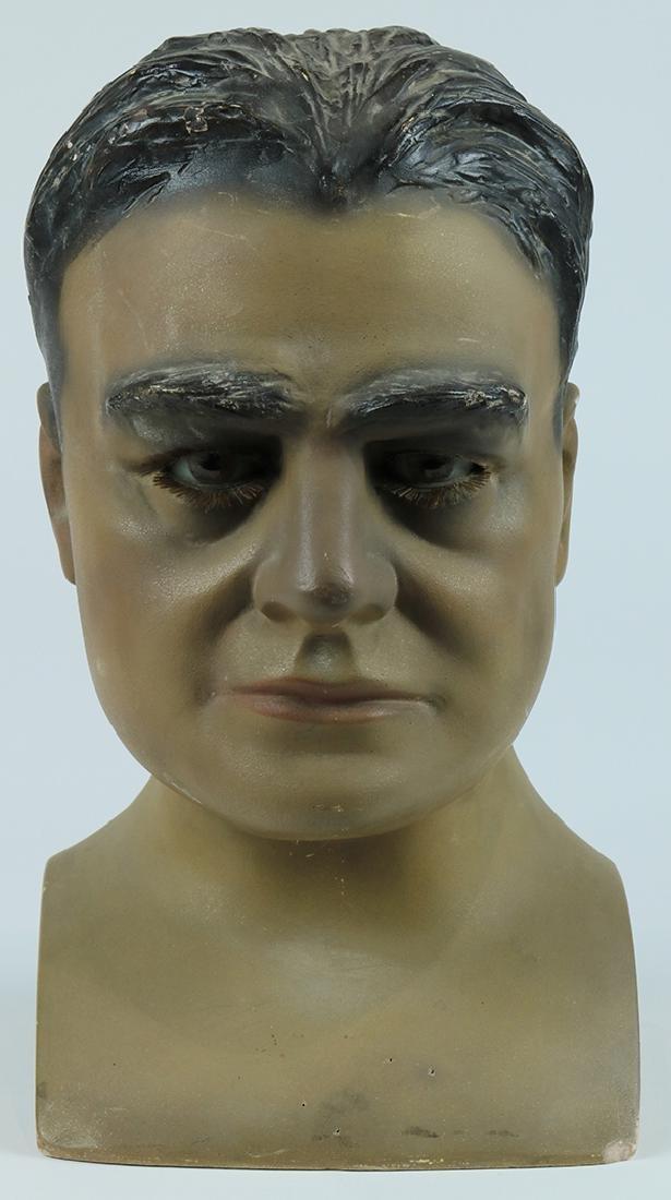 Folk art hat mannequin - 3