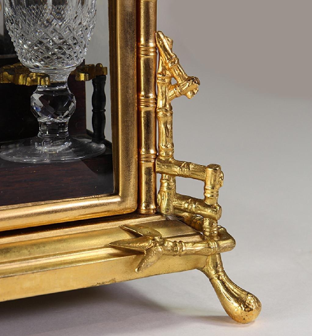 Continental gilt bronze tantalus - 4