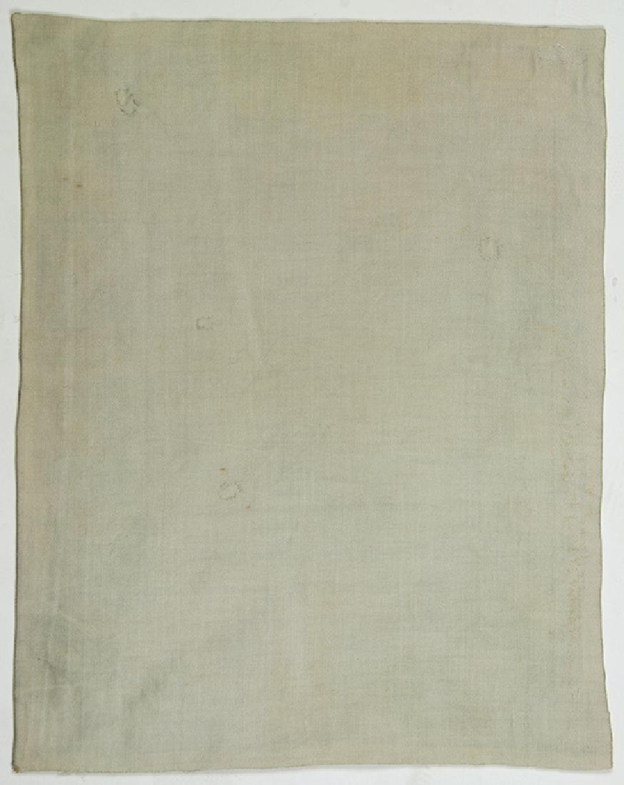 Sampler British 18th/19th century Silk on linen canvas, - 2