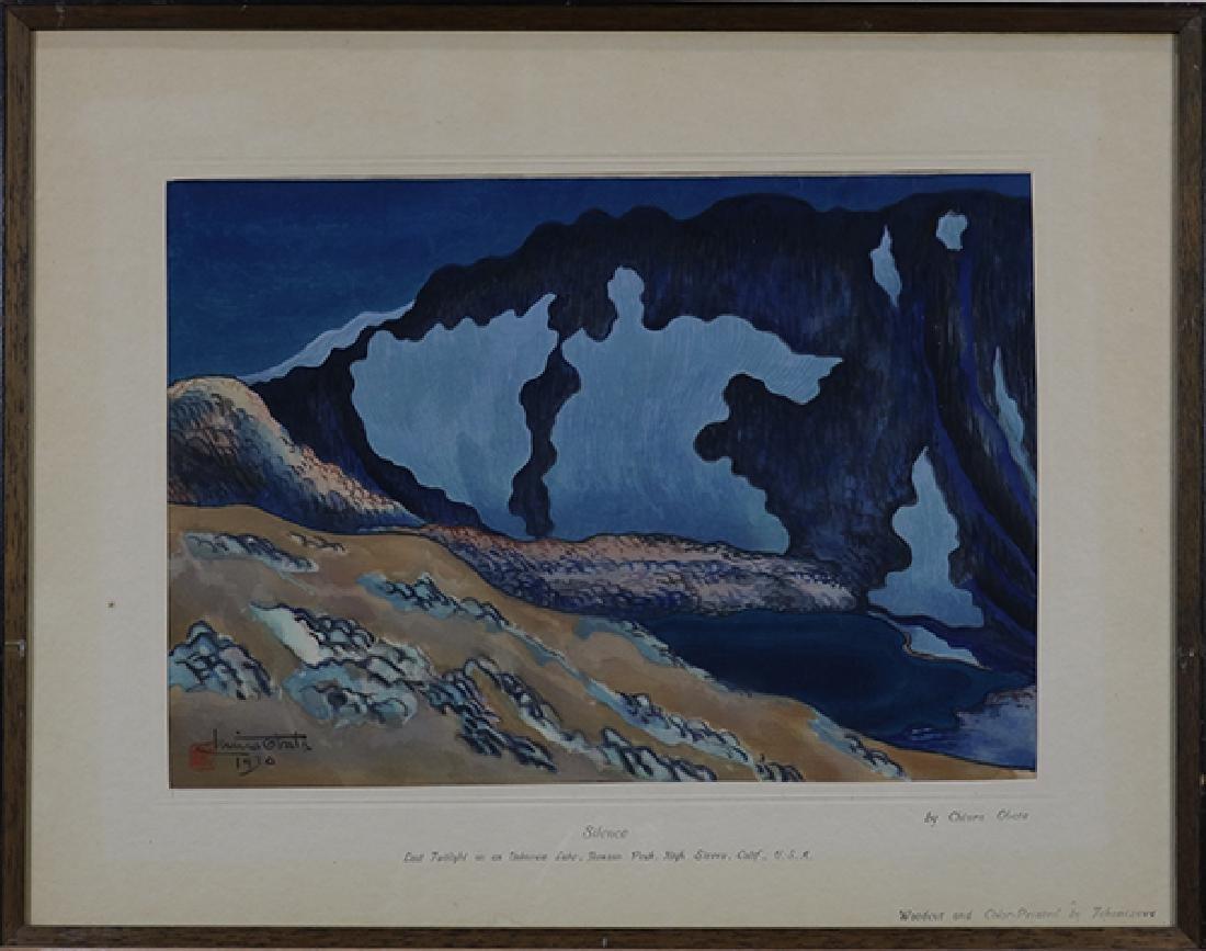 Woodcut, Chiura Obata, 1930 - 2