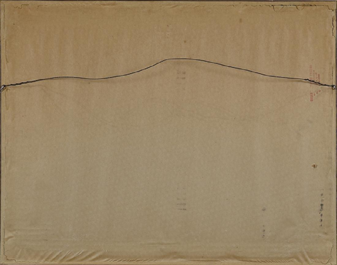 Woodcut, Chiura Obata, 1930 - 4
