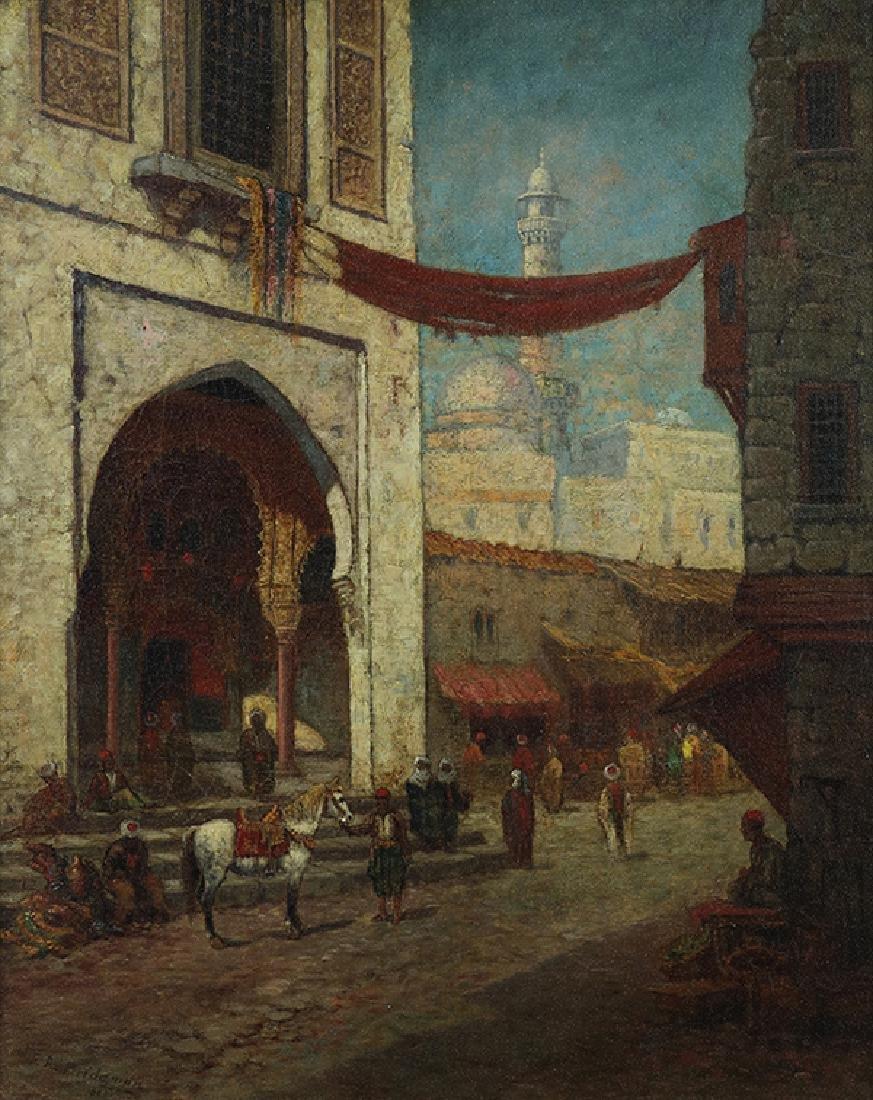 Painting, Frederick Arthur Bridgman