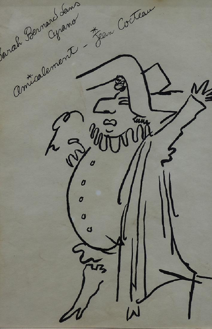 Drawing, Jean Cocteau