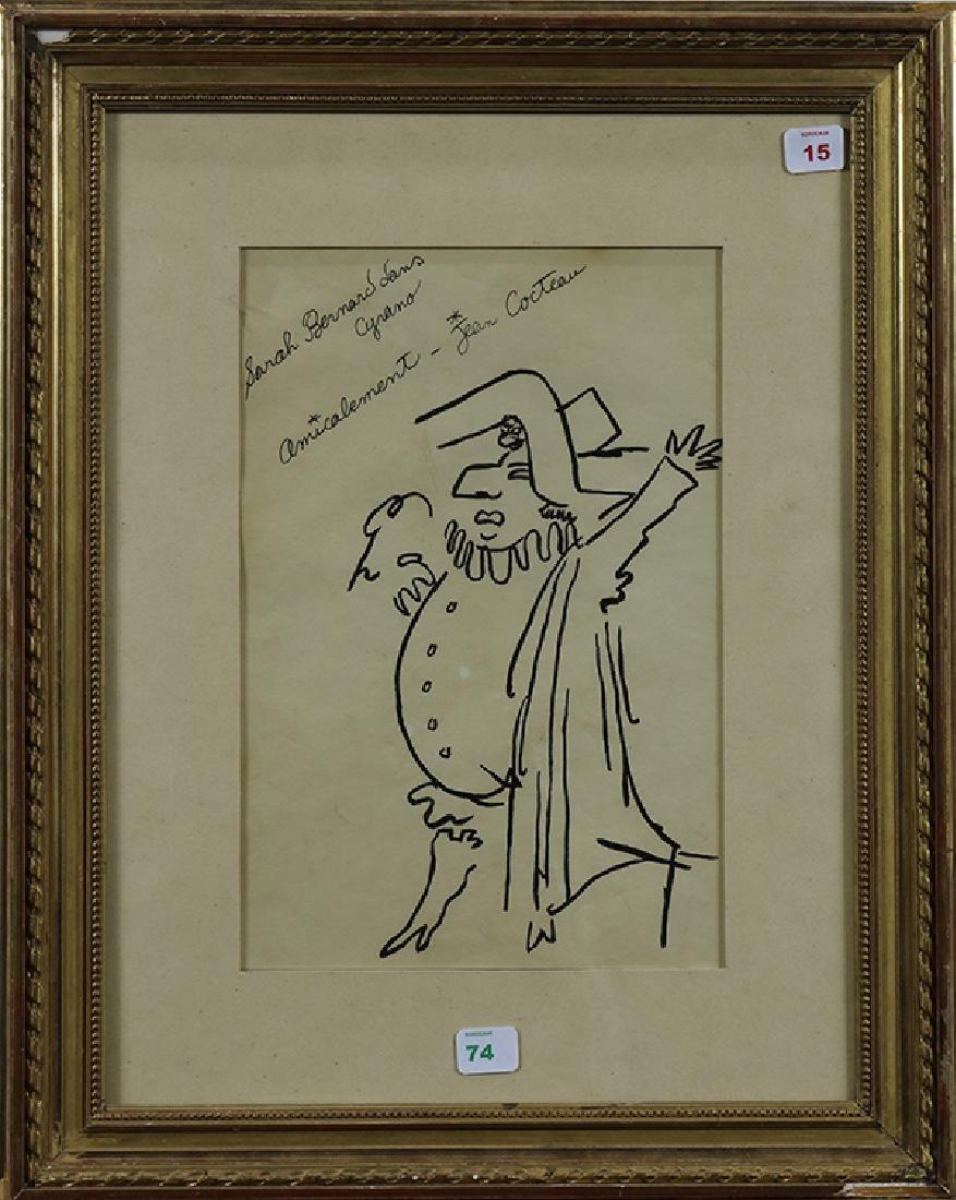 Drawing, Jean Cocteau - 2