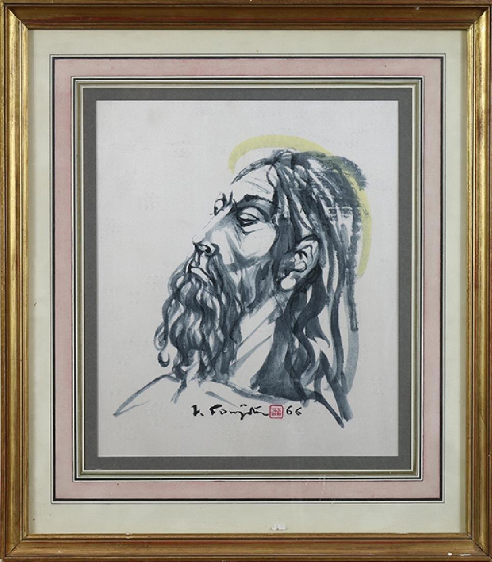 Drawing, Leonard Foujita - 2