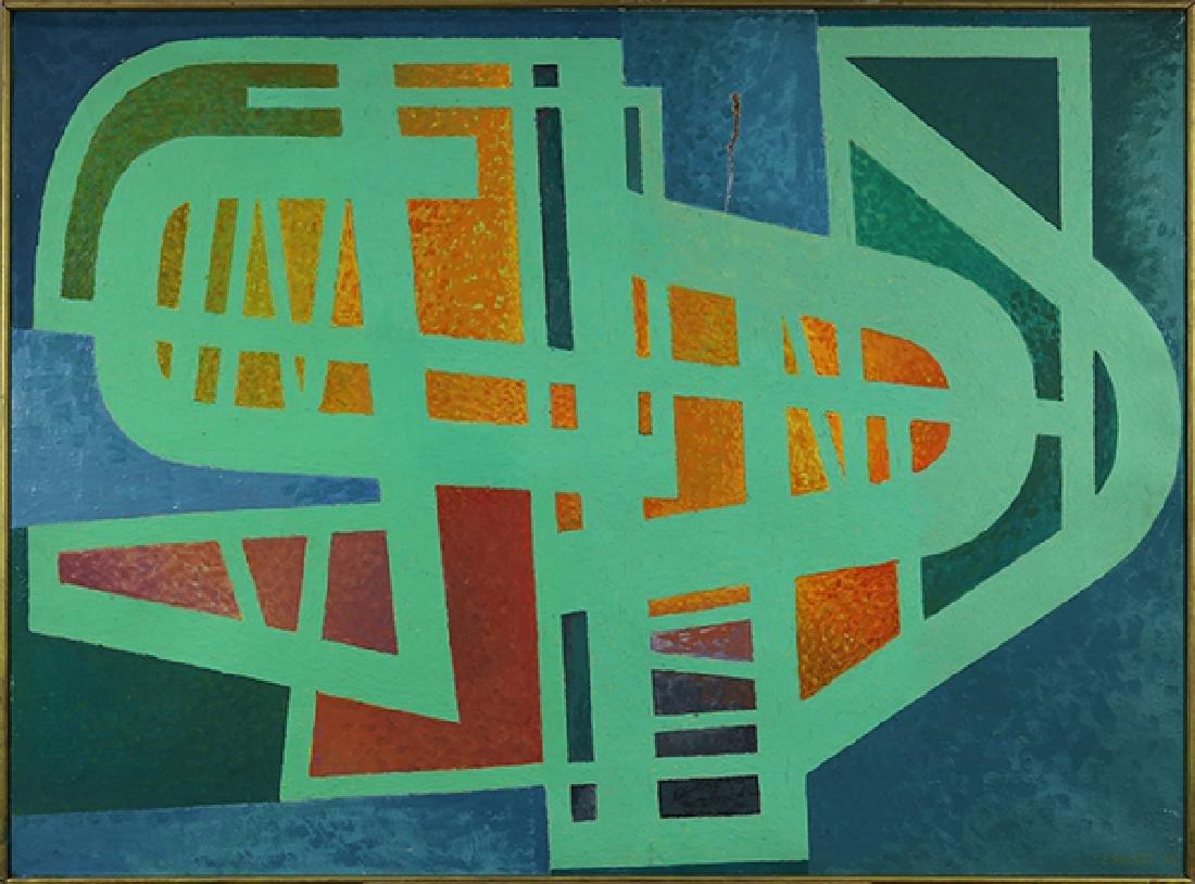 Painting, Edgar Pillet