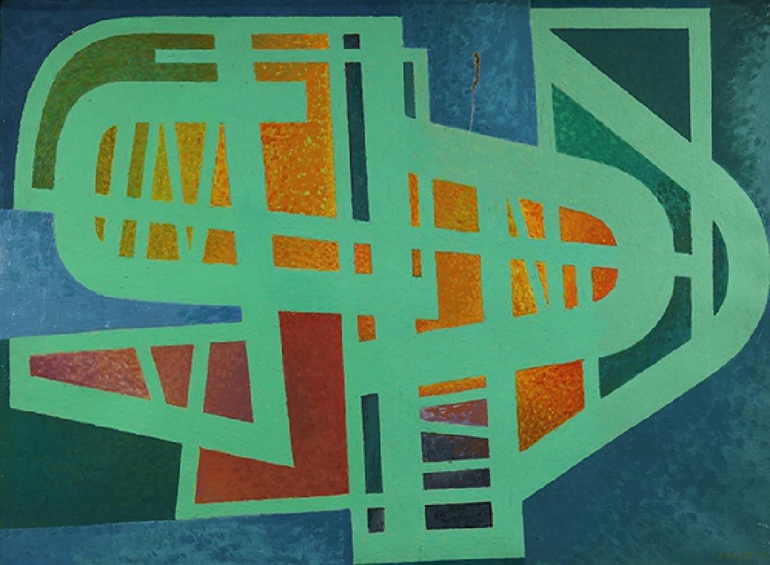 Painting, Edgar Pillet - 2