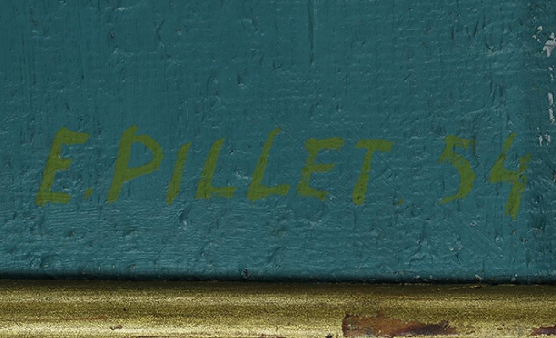 Painting, Edgar Pillet - 4
