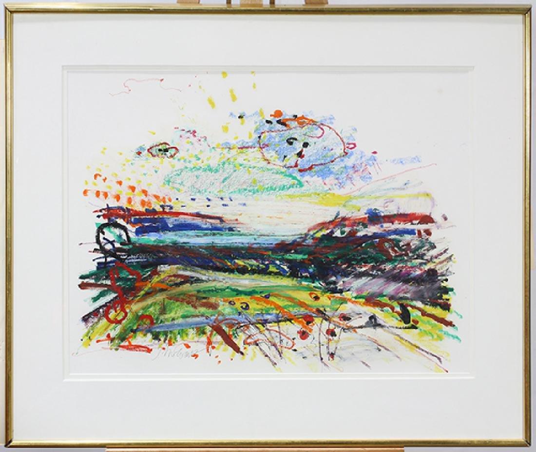 Work on Paper, John Evans