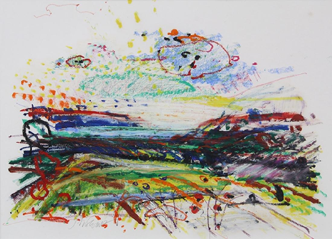 Work on Paper, John Evans - 3