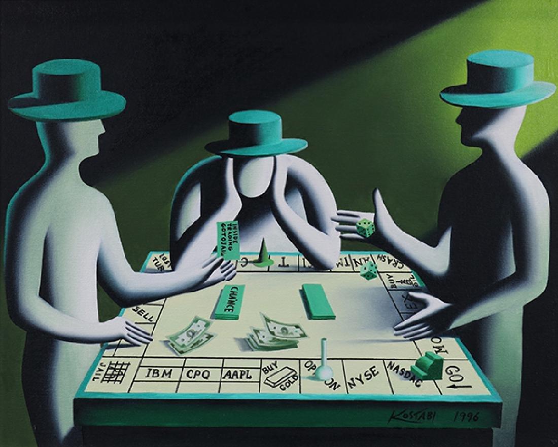 Painting, Mark Kostabi