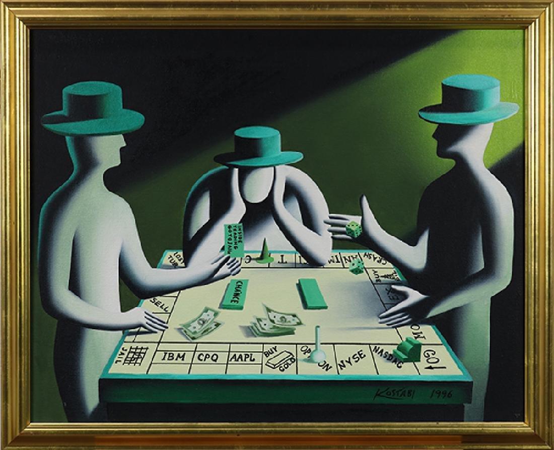 Painting, Mark Kostabi - 2
