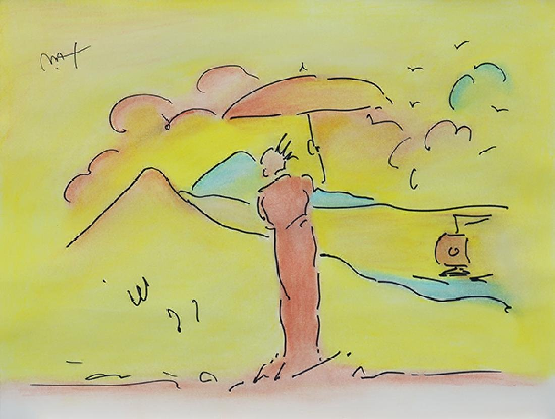 Work on Paper, Peter Max