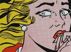 Print, Roy Lichtenstein, Crying Girl (Roy Lichtenstein