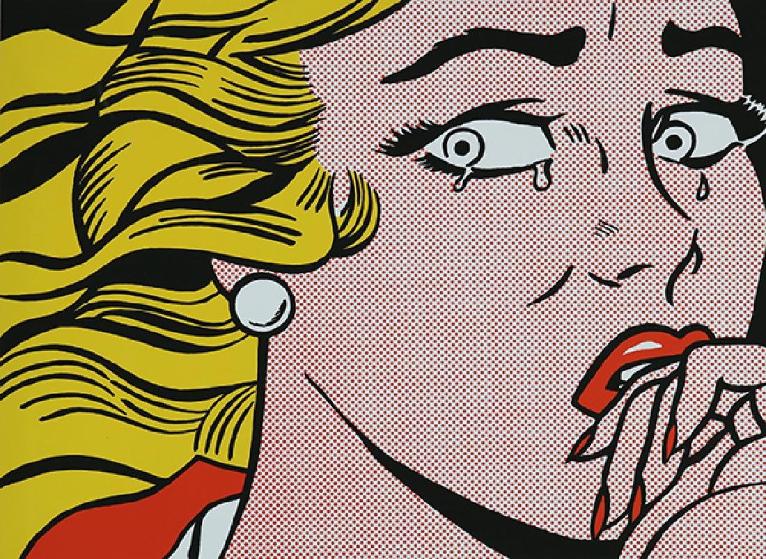Print, Roy Lichtenstein, Crying Girl (Roy Lichtenstein
