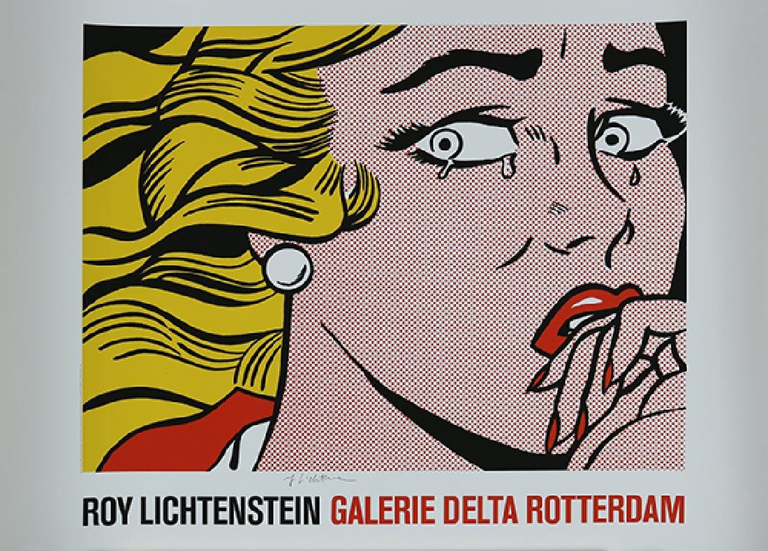 Print, Roy Lichtenstein, Crying Girl (Roy Lichtenstein - 2