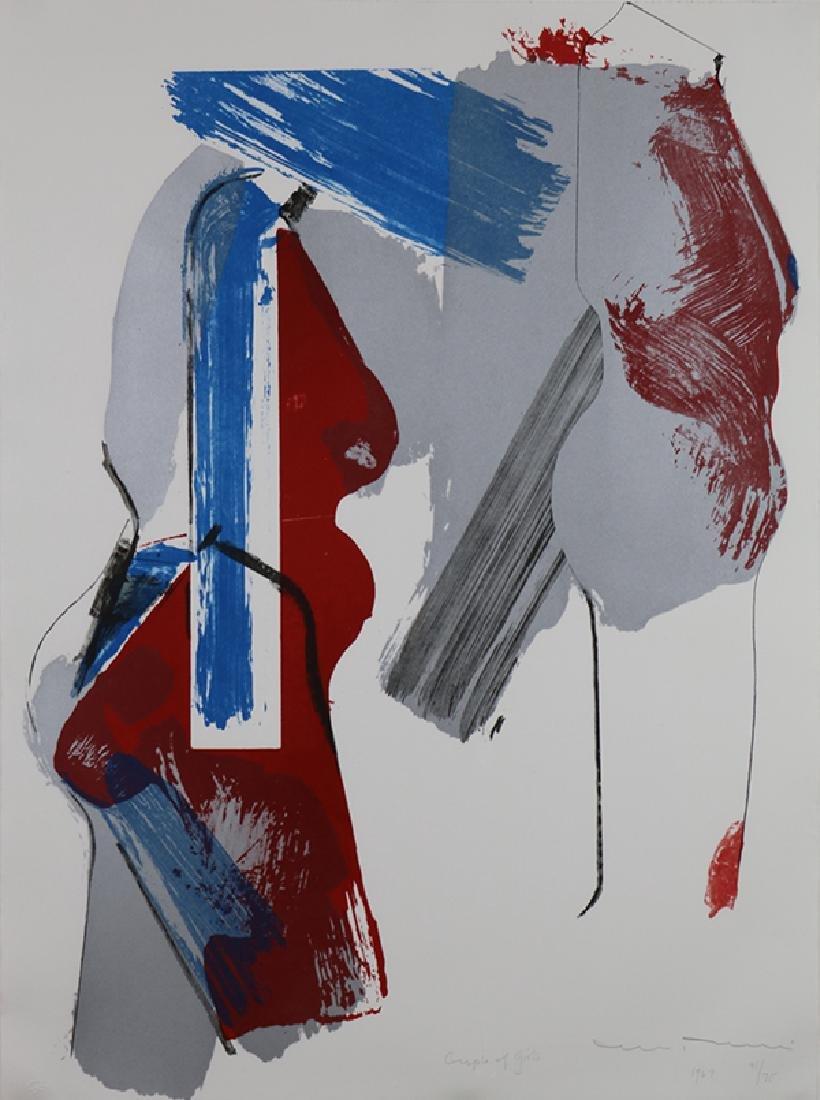 Print, Manuel Neri