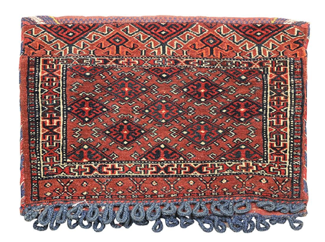(lot of 4) Persian and tribal bag group - 3