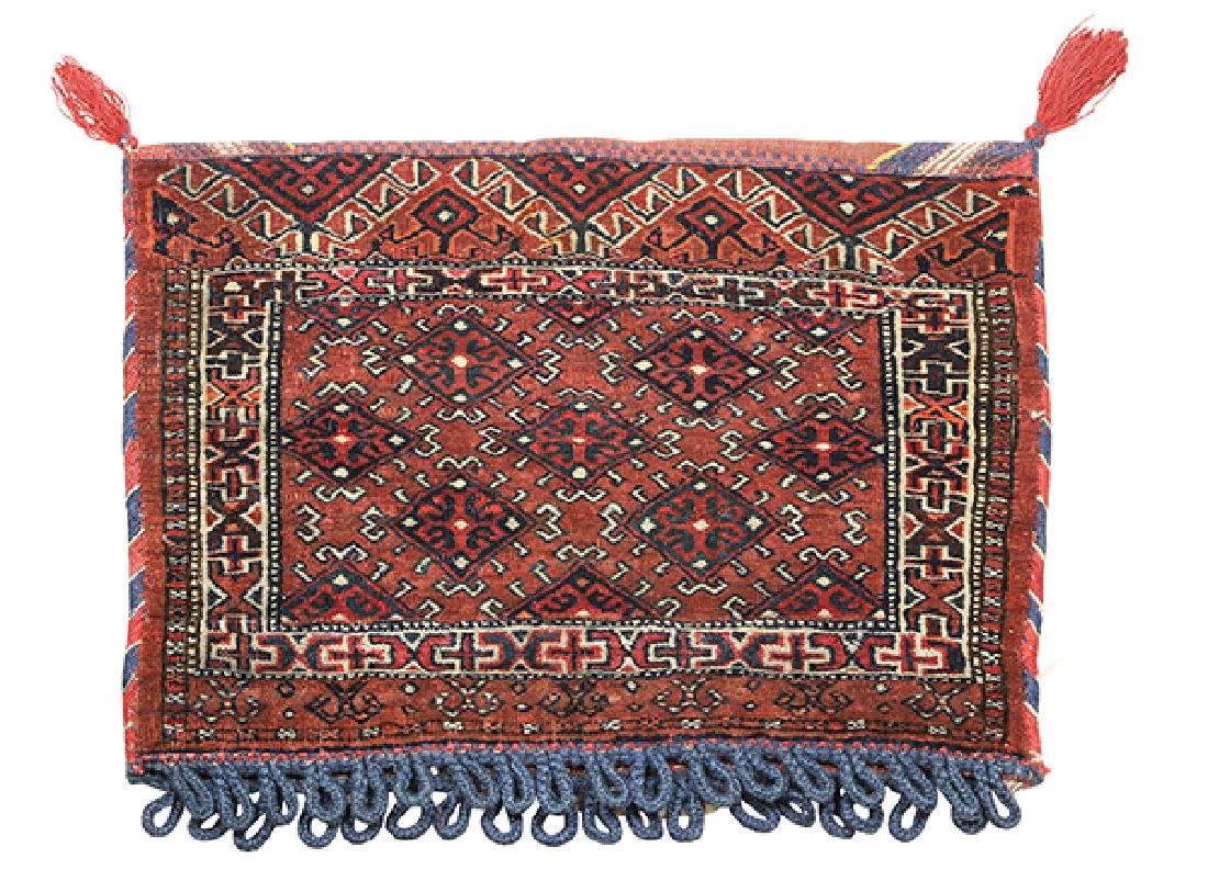 (lot of 4) Persian and tribal bag group - 4