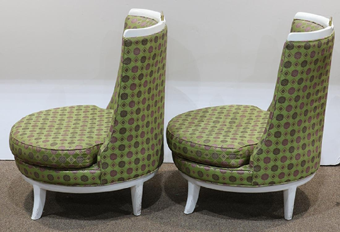 Pair of Mid Century Barney's club chairs - 2